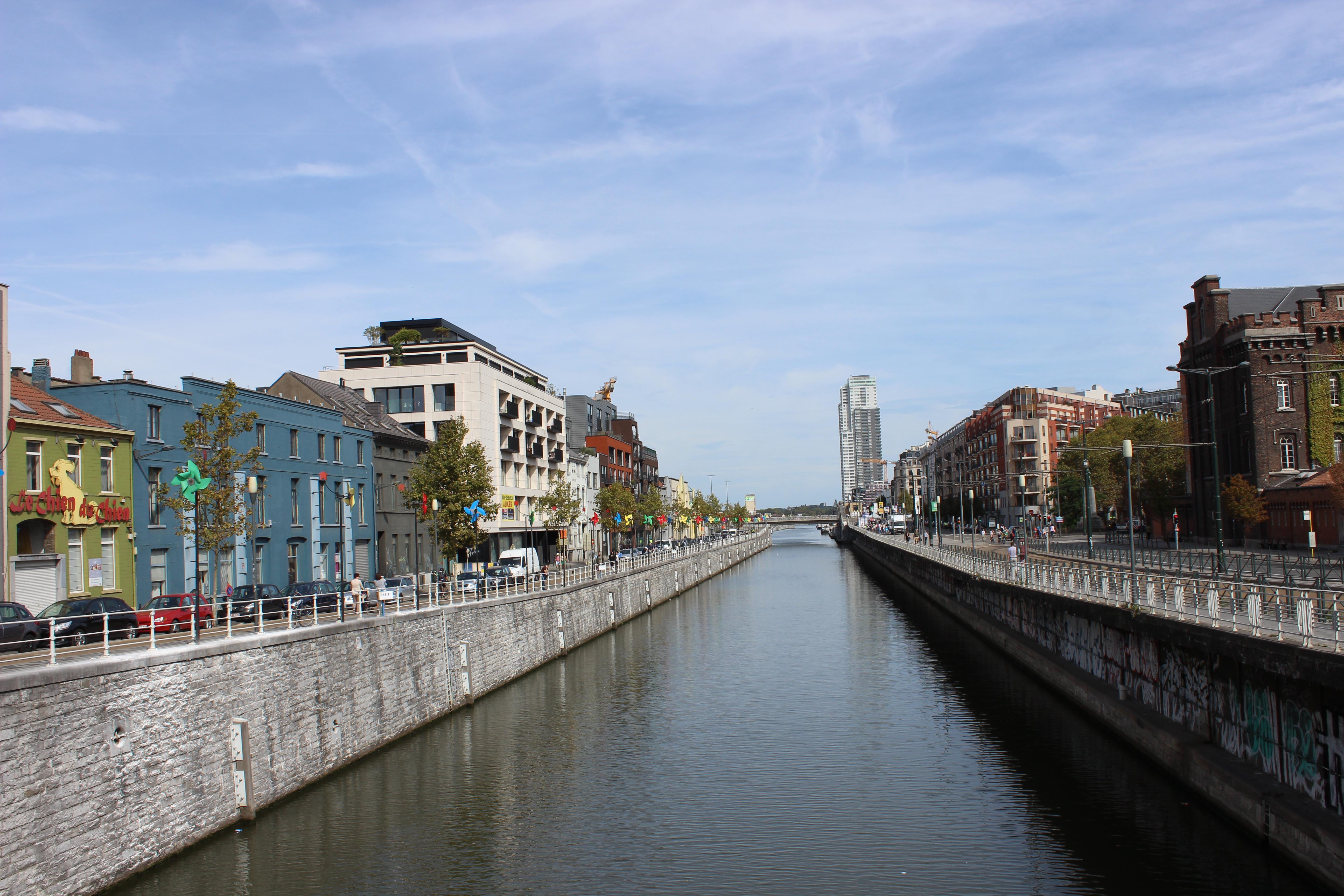 Ein Spaziergang durch das alte Hafenviertel von Brüssel