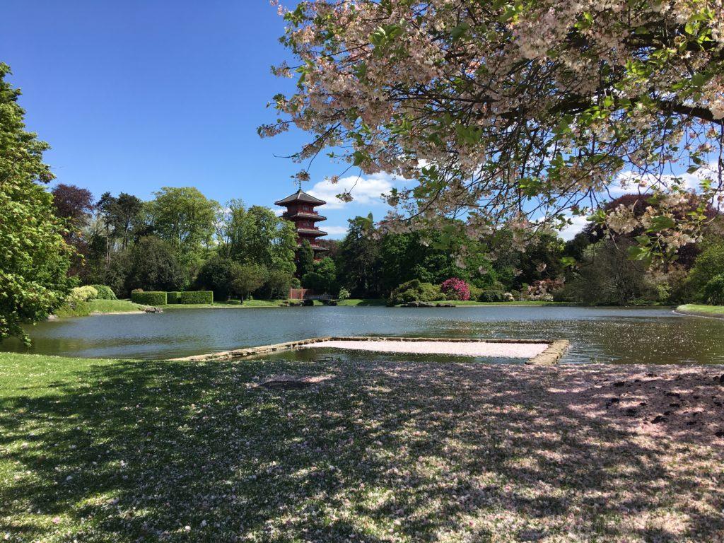 Japanischer Turm