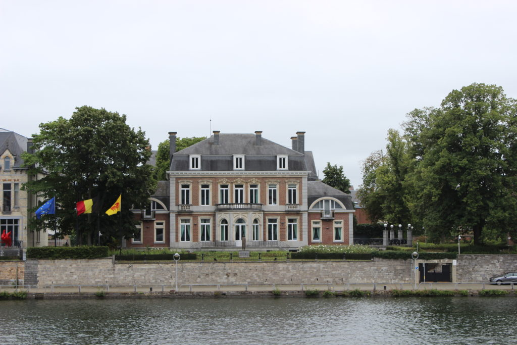 Die Maison Materne, auch Elysette genannt, in Anlehnung an den Elysée Palastes in Paris