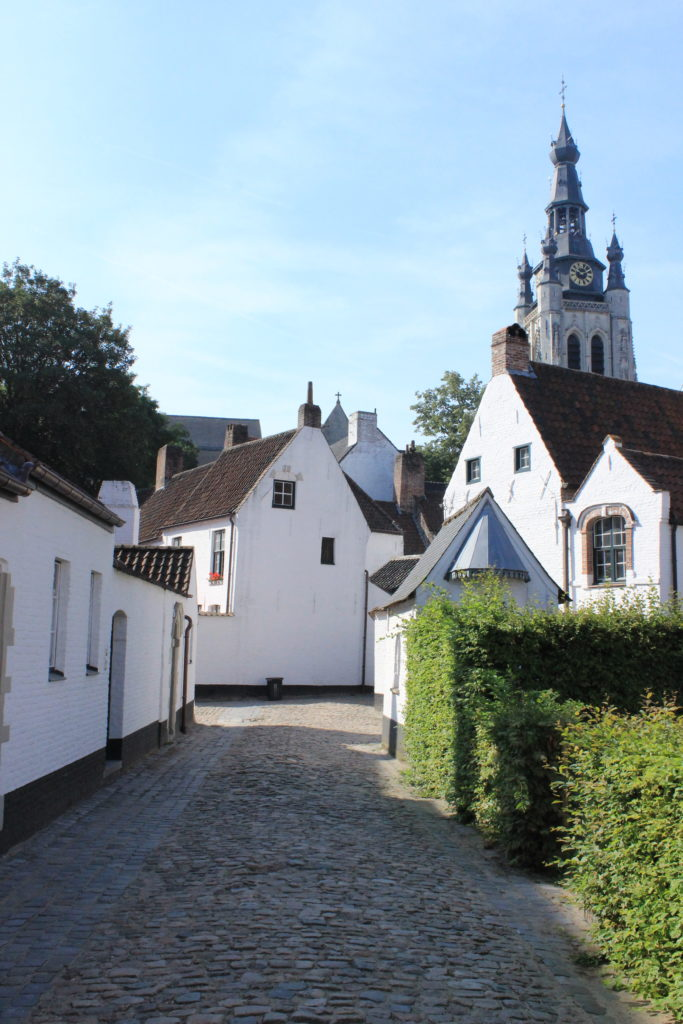 Der Beginenhof von Kortrijk. hier lebte bis 2013 die letzte Begine.
