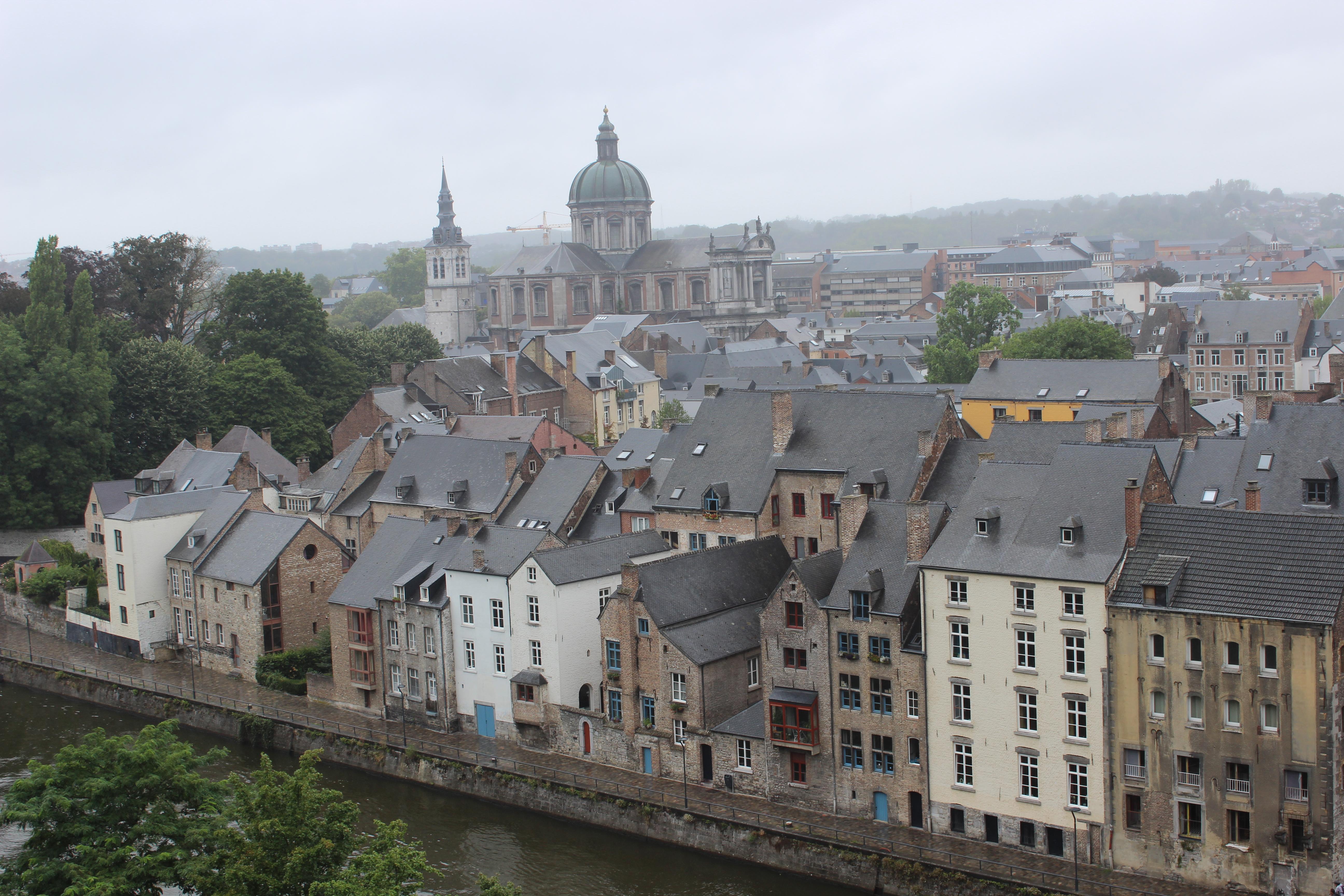 Namur – treffen sich zwei Flüsse…