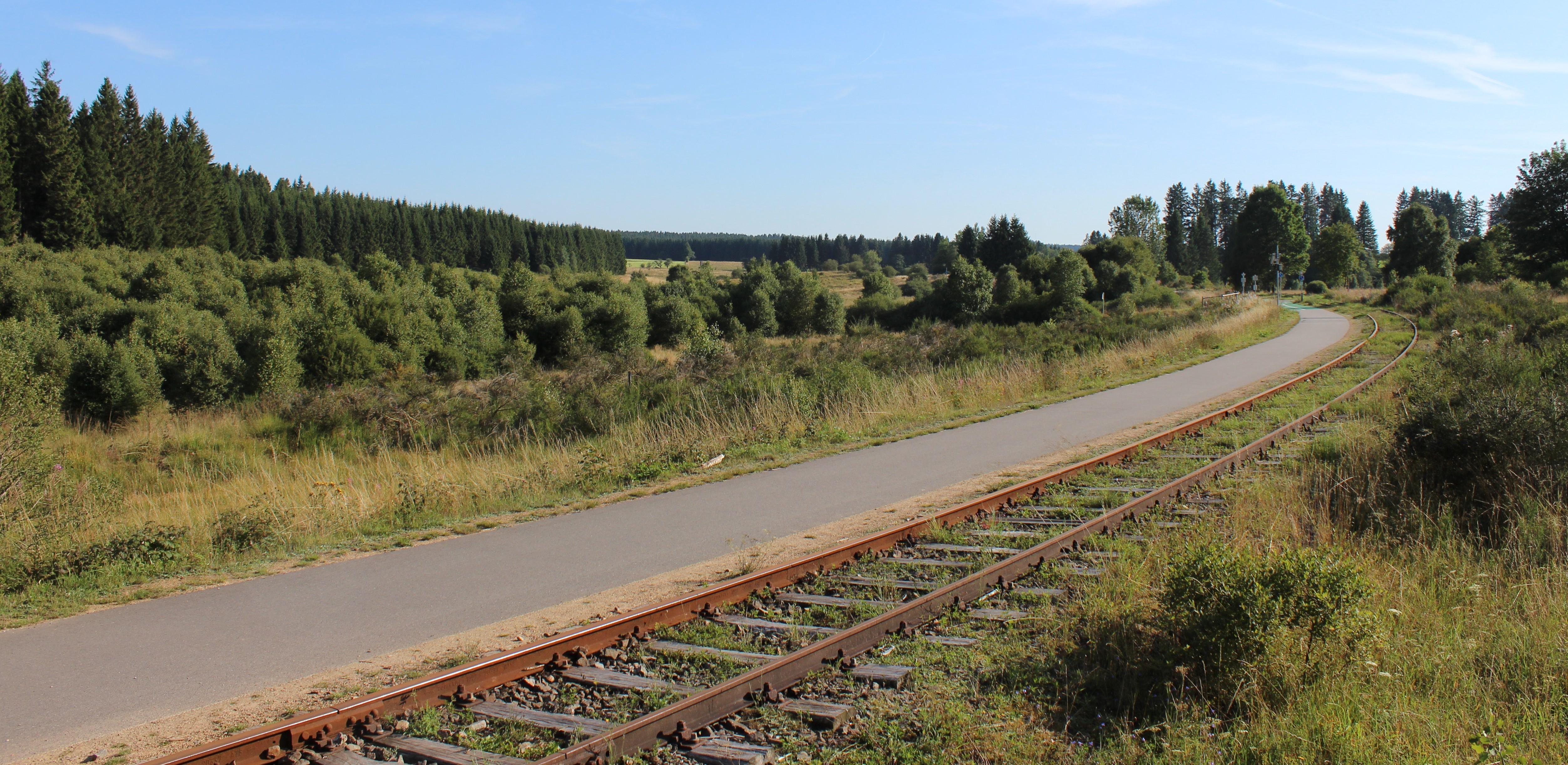 Die Vennbahn – früher Eisenbahn, heute Radwanderweg