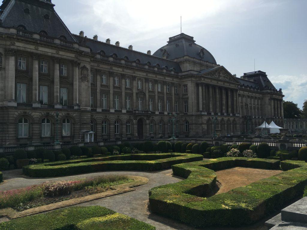 Der königliche Palast von Brüssel
