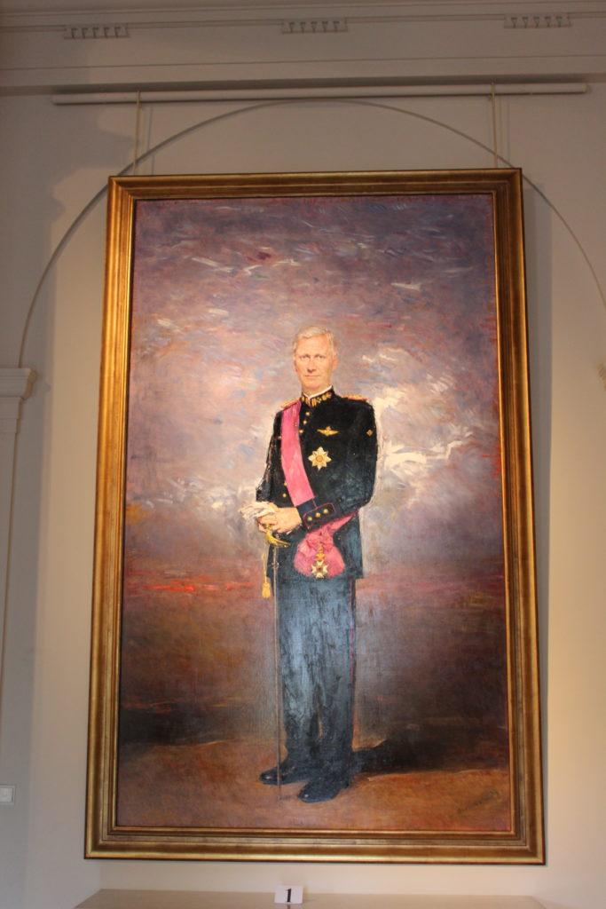 Porträt von König Philippe