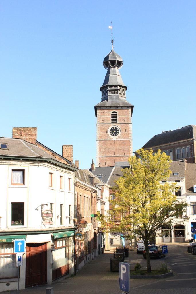 Ehemaliger Kirchturm in Gembloux