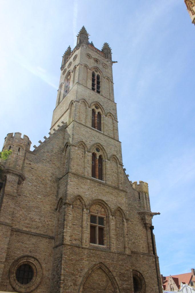 Rathausturm in Nieuwpoort