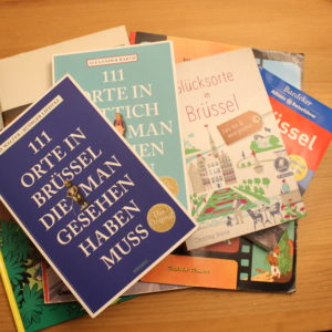 """Meine """"Belgien Bibliothek"""" -Belgien erkunden ohne zu reisen"""