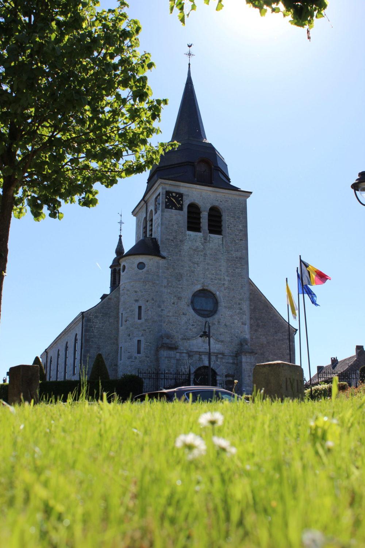 Die St. Hubertuskirche in Lontzen