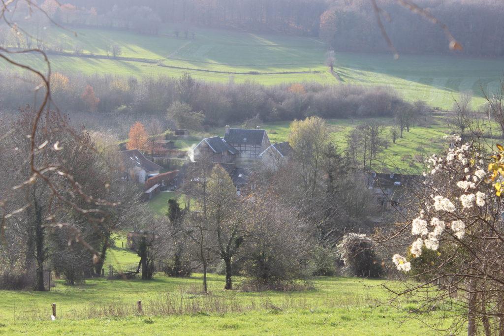 Bauernhof im Tal